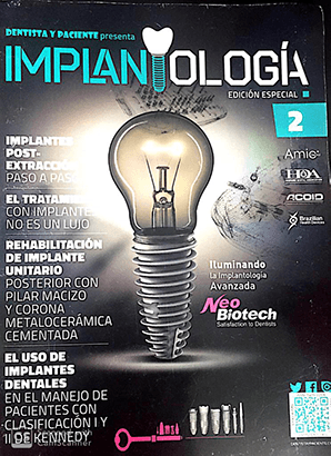 DR Hugo Zamora CDD article Implantology Special Edition